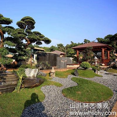 山川环艺景观-会所日式景观