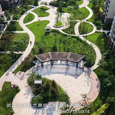 山川环艺景观-公共居住区园林