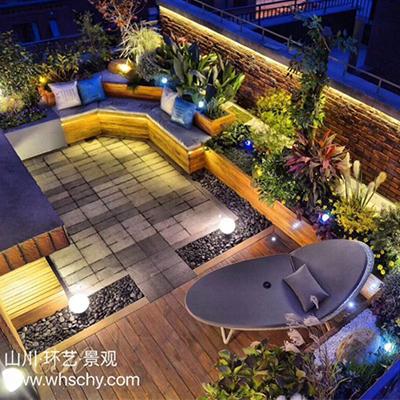 山川环艺景观-纯私家屋顶花园