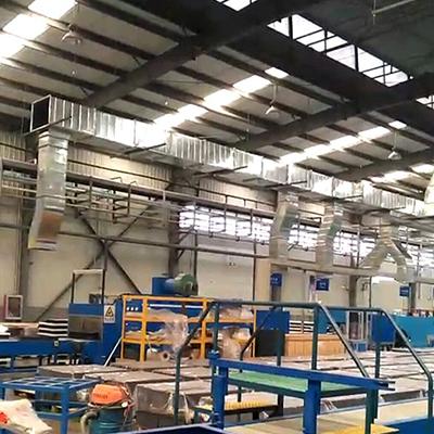 面粉厂米厂车间风网建造及改造