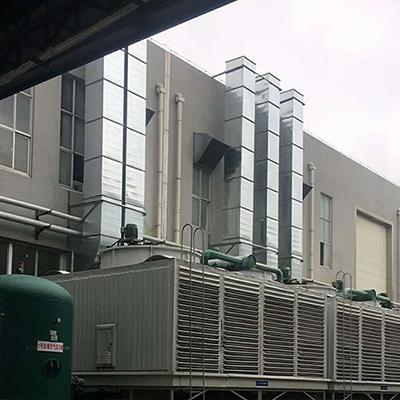 中央空调通风管道的制作与安装