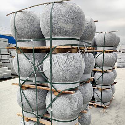 进川石材-圆柱球
