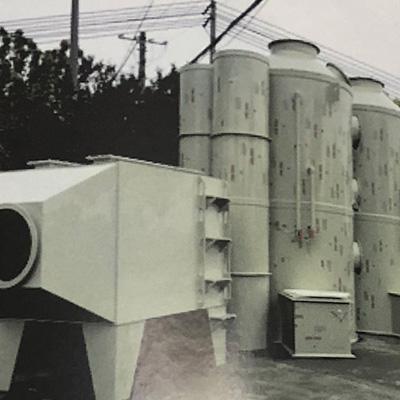 废气塔和回收器