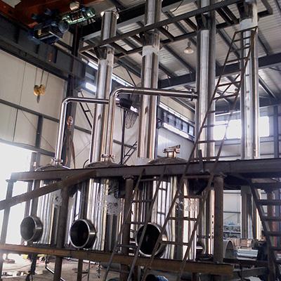 晟驰蒸发器—三效降膜蒸发器