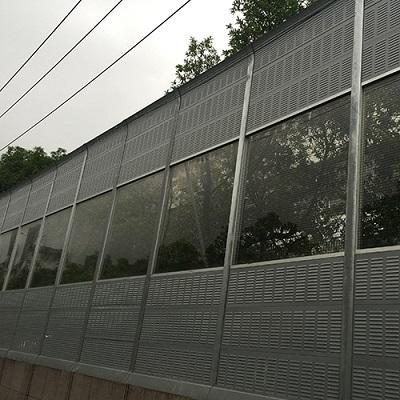 益欣声屏障-专业生产各种声屏障及隔音墙
