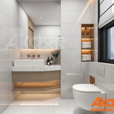 艾卡全铝家居-铝合金浴室柜