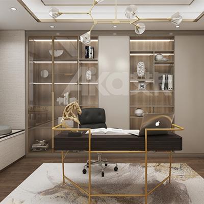 艾卡全铝家居-铝合金书柜
