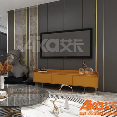 艾卡全铝家居-铝合金电视柜