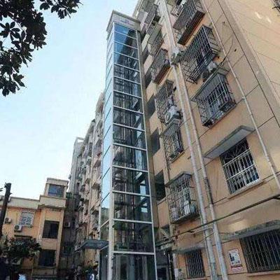 恒浩机电工程-旧楼改造加装电梯