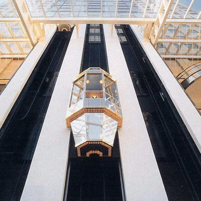 恒浩机电工程-观光电梯
